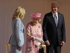 Joe Biden reçu par Elizabeth II à Windsor