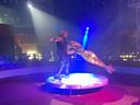 De voorstelling 'The Greatest Show' werd opgefrist met nieuwe acts van internationale circusartiesten, waaronder het Portugese duo Monteiro