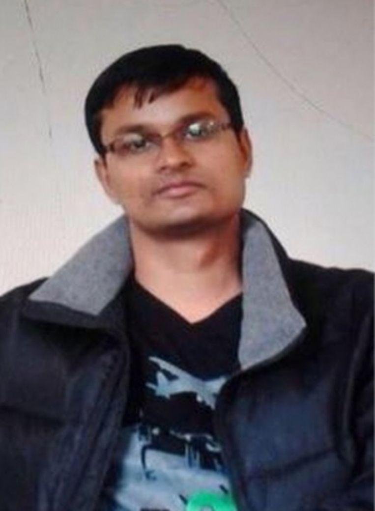 'Raghavendran Ganesan stapte op in de tweede wagon, waar Khalid El Bakraoui zich om elf over negen opblies.' Beeld
