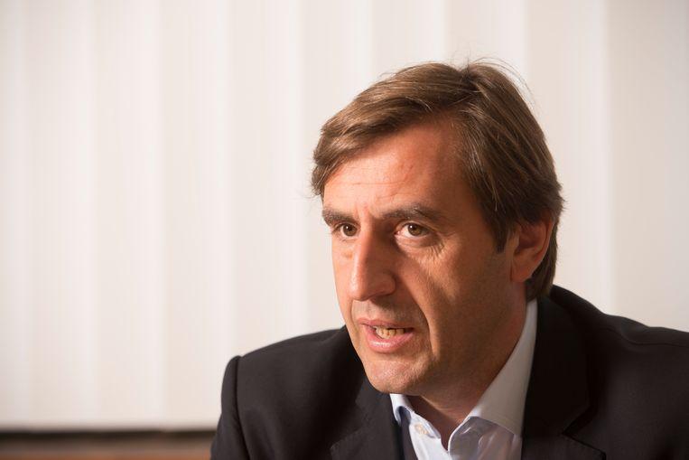 Bernard Delvaux stopt als CEO van Sonaca. Beeld Photo News