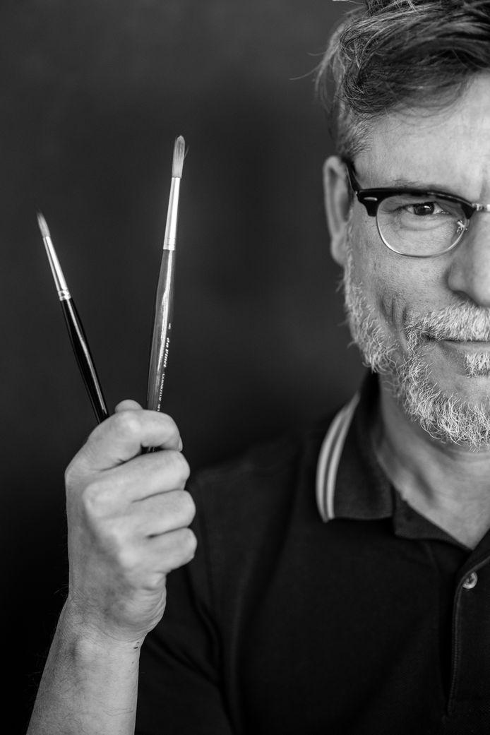 Kunstenaar Bas Geeraets