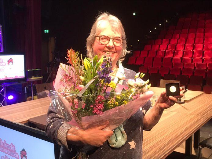Ineke van de Logt is Vrouw van het Jaar 2021 in Hardenberg.