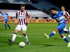 Jordens Peters: 'Eerste helft tegen Zwolle was Willem II onwaardig'