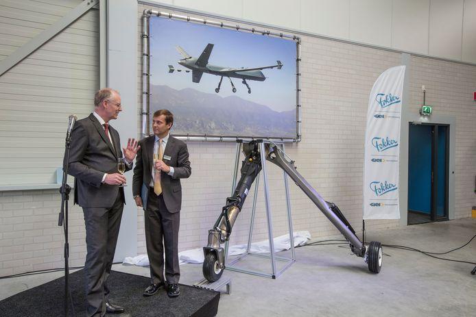 Ingebruikname nieuwe productielijn Fokker Landing Gear in Helmond.