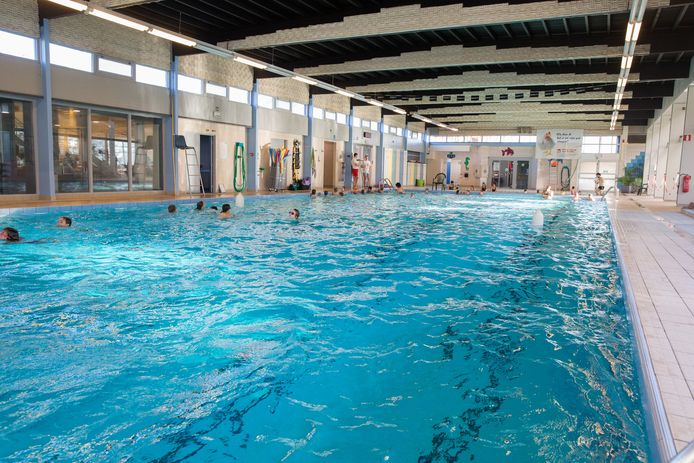 Het zwembad 'De Hoge Blekker' in Koksijde.
