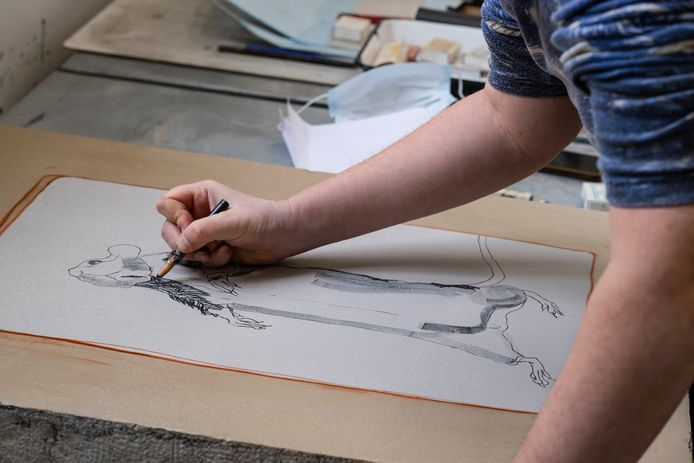 Tien Brabantse kunstenaars hebben de afgelopen twee maanden de kans gehad om grafische technieken te ontdekken.