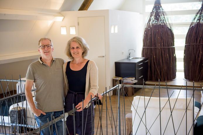 Gerrie en Jan Willems van de Hoogeloonse Gasterij en NatuurSpa.