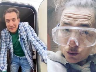 SHOWBITS. Andy Peelman woont tijdelijk in een caravan en zie jij welke BV onder het stof zit?