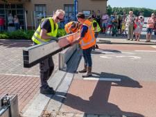 Niersbrug Gennep dicht uit voorzorg, waterschap plaatst waterkering