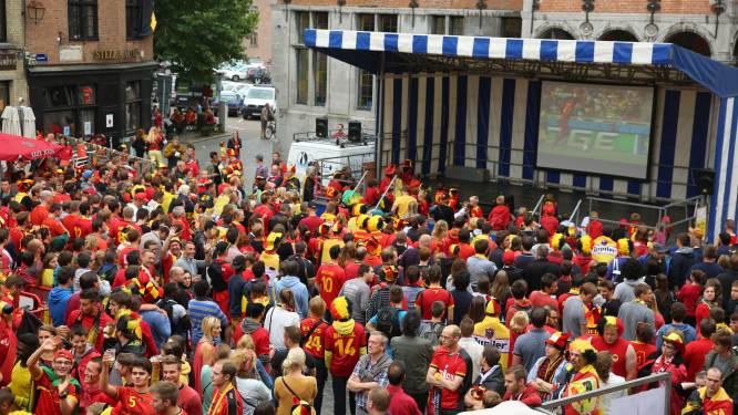 Man tot tweemaal toe betrokken bij vechtpartij tijdens WK-match Rode Duivels