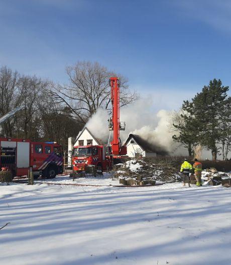 Inbrekers betrapt in uitgebrande boerderijwoning in Bosschenhoofd