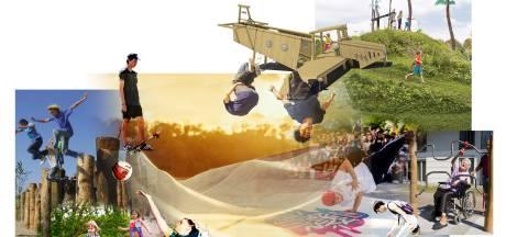 Skatebaan, freerunning-parcours en uitkijktoren: zo komt het urban sport- en speelpark in Roosendaal eruit te zien