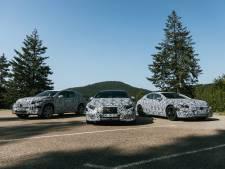 Mercedes licht een tipje van de sluier op van nieuwe elektrische modellen