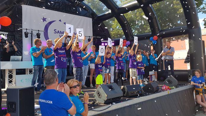 In 2019 werd bij de eerste Samenloop voor Hoop in Rosmalen meer dan 150 duizend euro ingezameld.