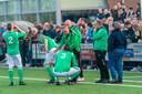 Oude tijden in het Betuwse voetbal: de derby SDOO - SVHA vorig seizoen, met heel veel bezoekers zonder corona.