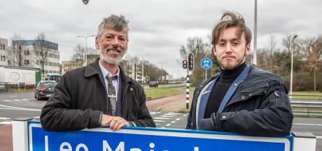 Met zoon en kleinzoon in de voetsporen van Zwolse bevrijder Léo Major: 'This is so emotional'