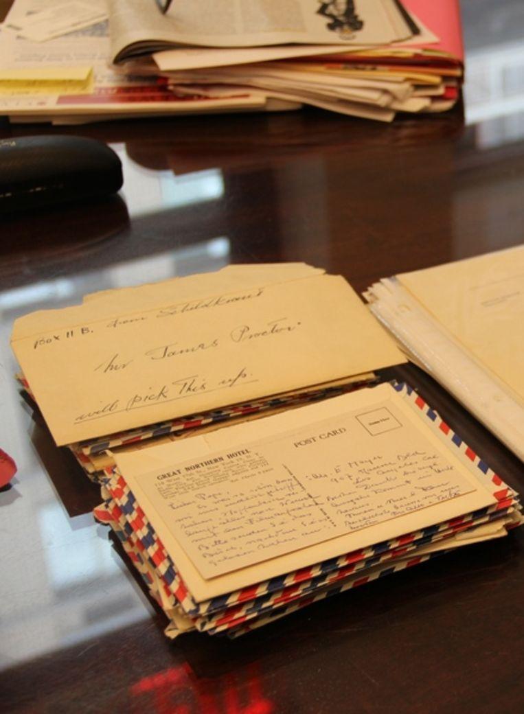 Brieven uit de collectie Schildkraut. Beeld Anne Frank Stichting