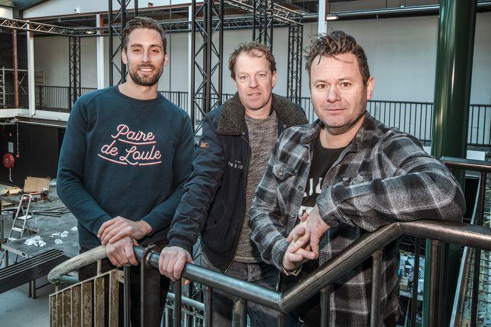 Het driemanschap achter The Inside (vlnr): Erik Haenen, Marrick Verhoeven en Alwin Houwing.