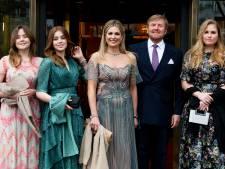 Koninklijke familie schittert in gala-outfits voor verjaardag Máxima