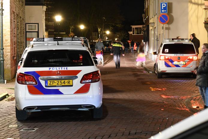 De politie moest vanavond uitrukken naar Montfoort