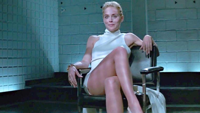 Sharon Stone in Basic Instinct (1992). Beeld