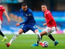 Ziyech maakt indruk bij spaarzame basisplaats voor Chelsea tegen Manchester United