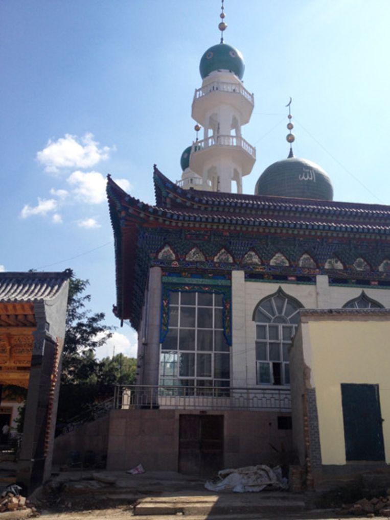 Moskee oude stijl Beeld Yilan Yuen