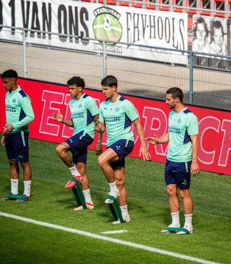 PSV vertrouwt op een totaal andere pikorde op de lange route naar de Champions League