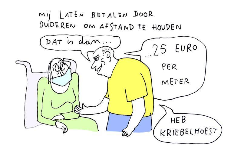 Kamagurka cartoons Corona Beeld Kamagurka
