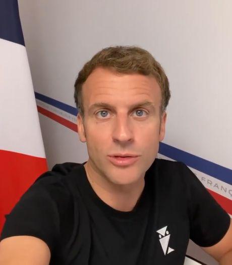 """""""J'ai décidé de répondre directement à vos questions"""": Macron répond aux Français sur Instagram"""
