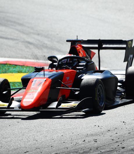 Richard Verschoor op podium in Formule 3 in Oostenrijk