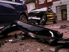 Flinke ravage na botsing op Hoofdstraat in Helmond