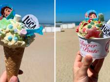 Le Luca Monster Bar à Knokke: des glaces adorables pour célébrer la sortie du nouveau Pixar