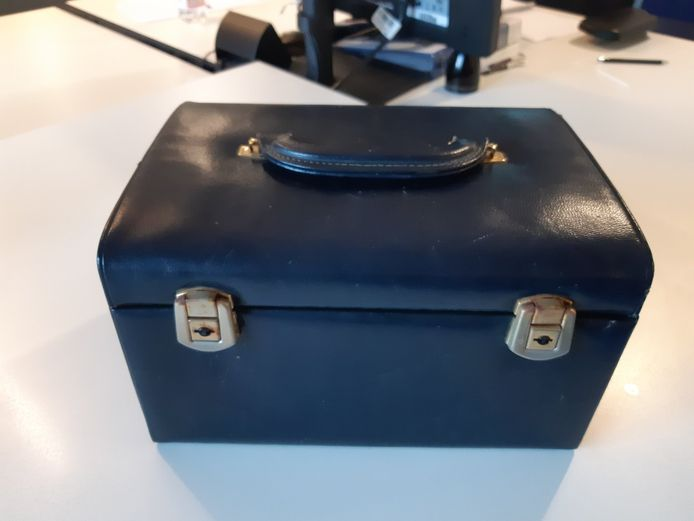 Een sieradenkoffertje gevonden in Beek, gemeente Montferland.
