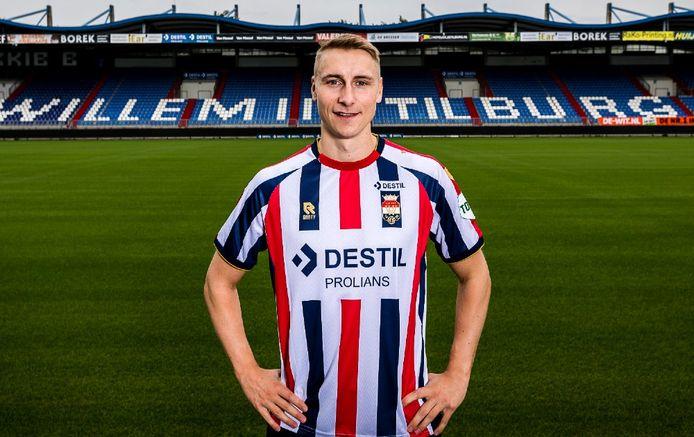 Ulrik Jenssen tekent een contract voor drie jaar bij Willem II.