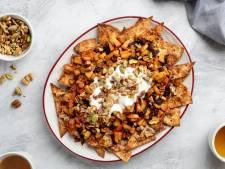 Wat Eten We Vandaag: Appeltaart-nacho's met notencrumble