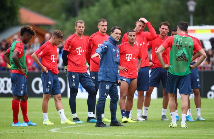 Niko Kovac bereidt zijn selectie voor op een nieuw seizoen in de Bundesliga.