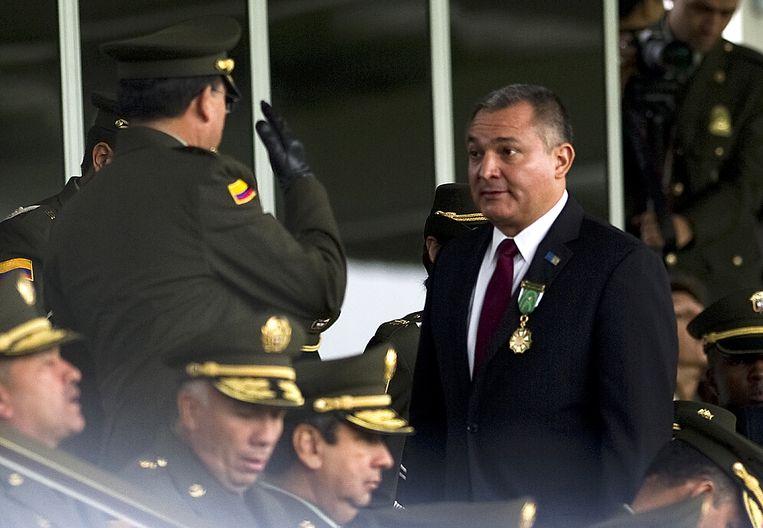 De Mexicaanse oud-veiligheidsminister Genaro Garcia Luna. Beeld AFP