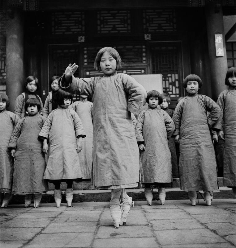 De modelleerling, Beijing, China. Beeld Ellen Thorbecke / Nederlands Fotomuseum