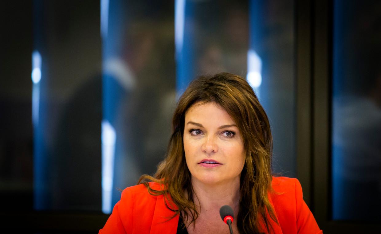 Goedele Liekens werkte samen met Child Focus aan de nieuwe campagne rond seksueel kindermisbruik. Beeld ANP