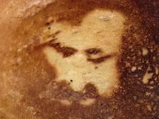 Jezus verschijnt weer eens: nu op een pannenkoek