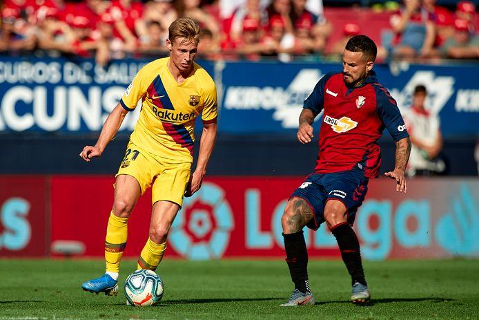 Op 31 augustus speelde FC Barcelona met 2-2 gelijk bij Osasuna.