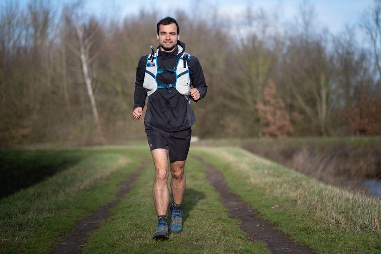 Thomas neemt in april deel aan de beruchte Marathon des Sables.