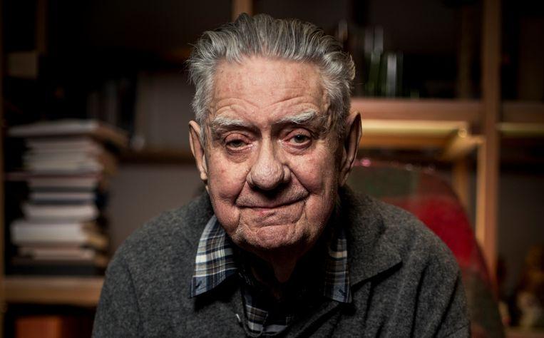 Fons Verplaetse werd 90 jaar oud. Beeld Joost De Bock.