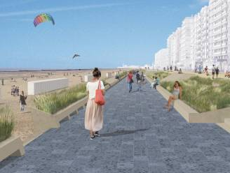 """Aanleg van 'groene' zeedijk in Westende is gestart: """"Een heel nieuwe wind zal door deze badplaats waaien"""""""