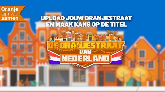 Upload jouw Oranjestraat 2021 en maak kans op de titel.