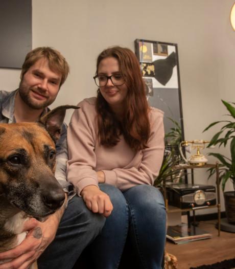 Laatste wens terminaal zieke Peter (55) komt uit: hond Zino krijgt nieuw thuis in Ermelo