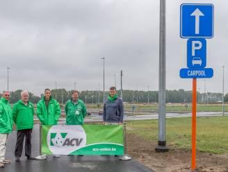 ACV-afdeling reageert tevreden op nieuwe carpoolparking aan de E17 in Kruishoutem