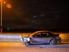 Politie tasert man tijdens achtervolging na crash op N50 bij Hattemerbroek