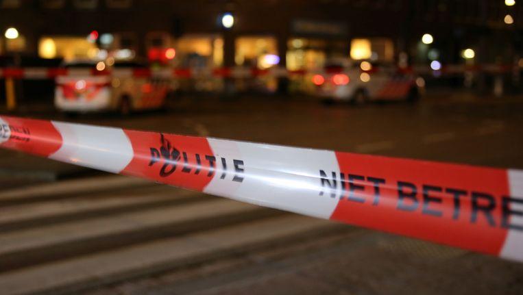 De dodelijke schietpartij zaterdag in een woning in Amsterdam was vermoedelijk geen liquidatie zegt de politie. Beeld anp